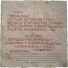 Pamětní deska vyzvednuta z Chrámu Zapomnění ::