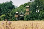 Pačkárna :: strážní věž a vstupní brána do tábořiště
